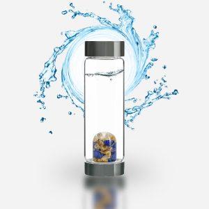 "ViA ""Inspiration"" Frequency Gem Water Bottle"