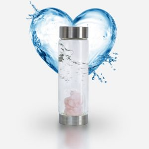 "ViA ""Love"" Frequency Gem Water Bottle"