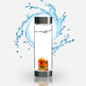 "ViA ""Happiness"" Frequency Gem Water Bottle"
