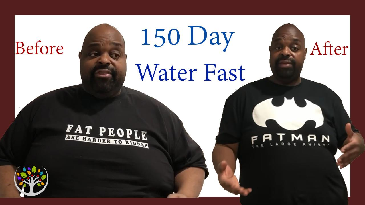 150-Day Straight Water Fast <br>(The Fasting Fatman)