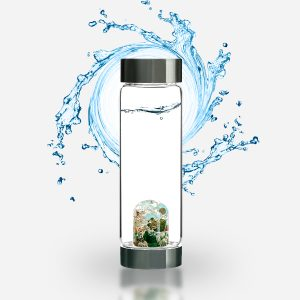 """ViA """"Forever Young"""" Frequency Gem Water Bottle"""