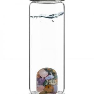 "ViA ""5 Elements"" Frequency Gem Water Bottle"